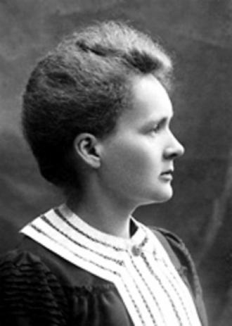 A young Marie Curie...