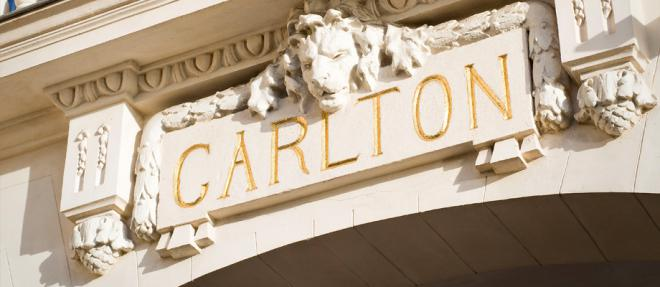 The Carlton in Cannes...